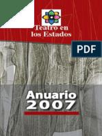 ANUARIO TEATRO DE LOS ESTADOS 2007