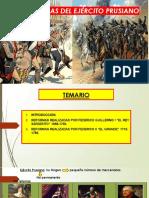 02. d. E. Moderna. El ejército prusiano