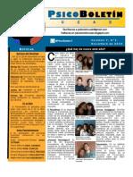 PsicoBoletin UCAB Primera Edición