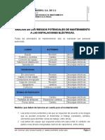 ANALISISI DE LOS RIESGOS POTENCIALES DE MANTENIMIENTO A LAS INSTALACIONES ELECTRICAS.docx