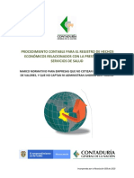ULTIMOS PROCEDIMIENTOS CONTABLES PARA LAS ESE Versión 1 (27-02-2020)