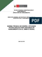 2-Opciones Tecnologicas de Saneamiento para el Ambito Rural - final