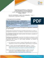 Guía de actividades y rúbrica de evaluación - Unidad 1 - Caso 2 - Comprender la legislación comercial