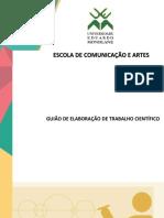 GUIÃO DE ELABORAÇÃO DE TRABALHO CIENTÍFICO - ECA-UEM - 2019pdf revisto