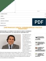 JOSÉ FRANCISCO GARCÍA_ _JURISPRUDENCIA Y POLÍTICA MIGRATORIA_ - Libertad y Desarrollo