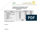 Rencana Anggaran Biaya Pemasangan Canopy