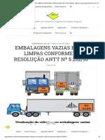 ABTLP - Embalagens vazias e não limpas Resolução ANTT 5232.2016.pdf