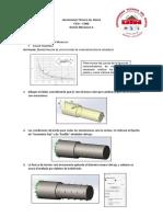 Simulaciones de concentradores de esfuerzos solidworks