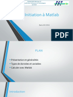 Initiation à Matlab
