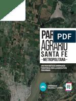 LIBRO Parque Agrario Santa Fe Metropolitana 2020 Argentina