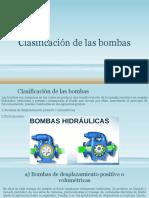 Clasificación de las bombas universidad