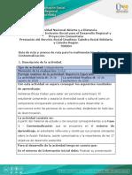Guía de ruta y avance de ruta para la realimentación - Fase 1 - Contextualización (1)