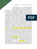 ENTREVISTA  DEL  REMITENTE  CARLOS YOSIMAR CEJA MALDONADO - copia.docx