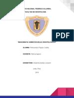 Monografias Sobre Escuelas Odontologicas