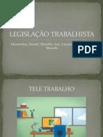 Slides Legislação