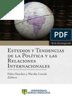Sánchez & Liendo, 2018, Estudios y tendencias
