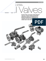 Valves - Prochem - Stainless Steel Ball Valves