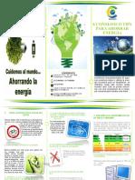 TIPS PARA EL AHORRO DE ENERGIA