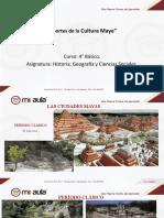 Aportes culturales de los Mayas