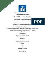 ANTHONY FREIRE CASTRO INFORME DE PRACTICA  tamizado-triturado