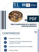 Planificacion de la gestion y Direccion_minorista