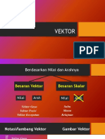 Vektor Fisika Kelas X Semester 1 Kurikulum 2013