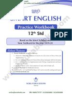 CLASS 12 SMART ENGLISH WORKBOOK GUIDE - SURA BOOKS
