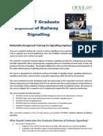 Brochure for Graduate DIploma in Railway Signalling 2019 v1.0.pdf