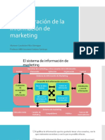 Administración de la información de marketing