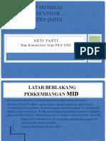 KG 2.1 - PRINSIP MINIMAL INTERVENTION DENTISTRY (MID)