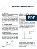 01- Co-ordinate systems and position vectors