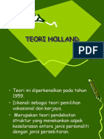TEORI HOLLAND 2