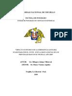 Impacto Ecónomico Covid 19 en La Banca Digital