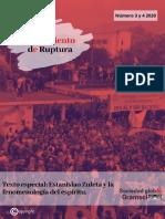 PENSAMIENTO DE RUPTURA 3 Y 4 (2020)