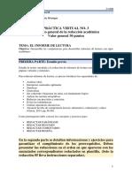 Práctica Virtual No 3 El informe LET-012 M. Ortiz Monagas