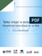 Texto virtual e-actividades (2020)