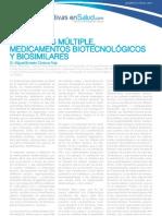 Esclerosis Multiple - Medicamentos Biotecnologicos y Biosimilares