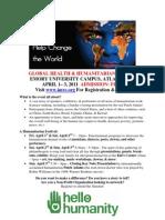 Global Humanitarian Flyer