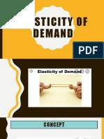 MICROECONOMICS CH 4 ELASTICITY OF DEMAND