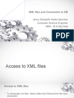 Class 3 - XML files and connection to DB