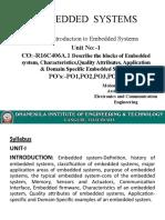 ES Unit-1
