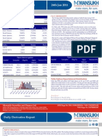 DERIVATIVE REPORT FOR 24 JAN - MANSUKH INVESTMENT AND TRADING SOLUTIONS