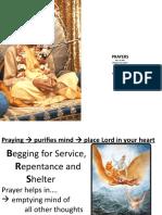 PRAYERS HOW TO OFFER - VANDANAM