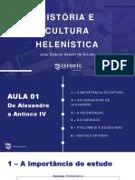 História e Cultura Helenística