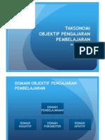 20100816130824Kuliah 2B Taksonomi Objektif Prngajaran Pembelajaran (Domain Psikomotor)