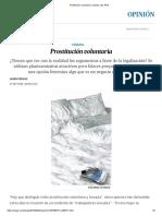 Laura Freixas (2018) - Prostitución voluntaria (opinión)
