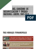 Avances Del GRUN 2007-2018