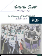 Tribute to Scott Wedell