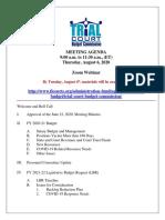 FL TCBC August 6, 2020, Materials