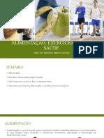 Alimentação, exercício físico e saúde